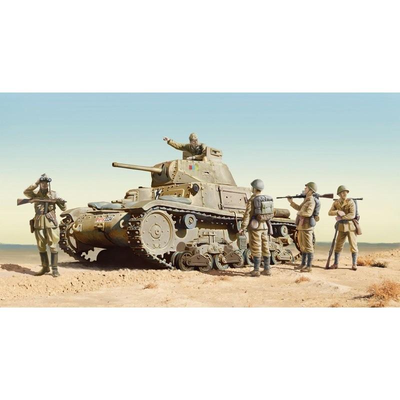 ITA-6543 Italeri 6543 1/35  Carro Armato M14/41 w/infantry