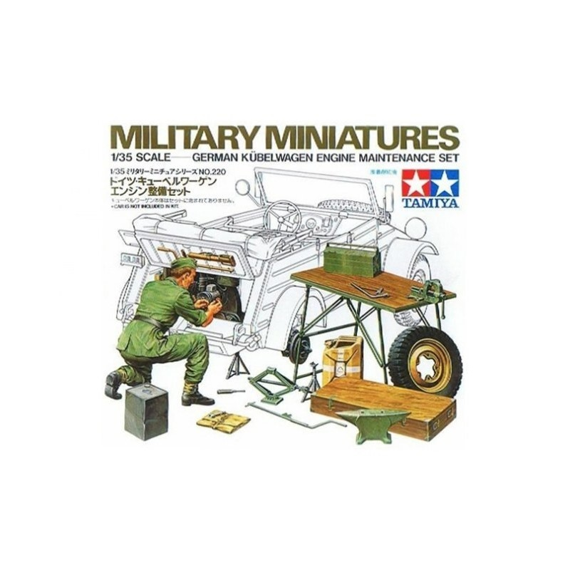 TAM-35220 Tamiya 35220 1/35 kubelwagen engine set