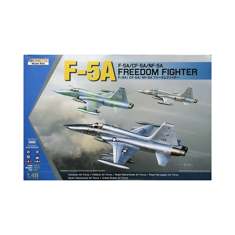 KIN-48020 KINETIC 48020 1/48 F-5A / F-5A/CF-5A/NF-5A Freedom Fighter