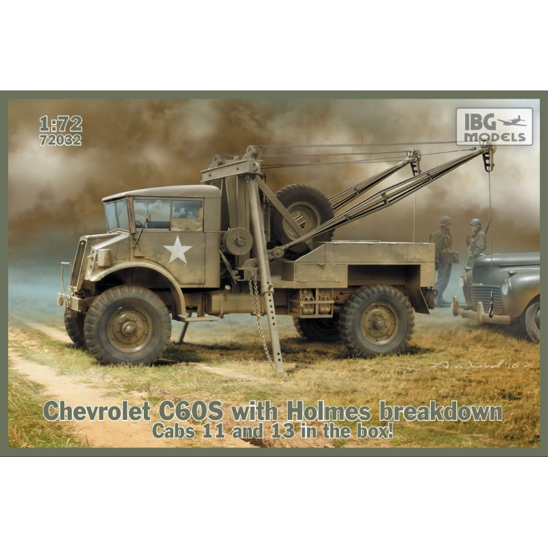 IBG 72032 1/72 CHEVROLET C60S with Holmes breakdown