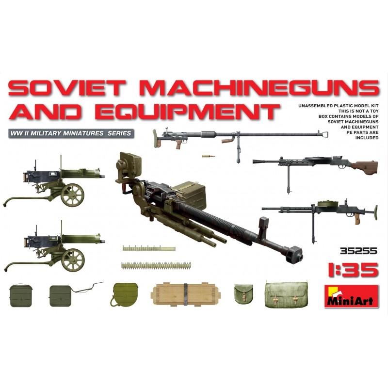 MA-35255 MINIART 35255   1/35 Soviet Machineguns  Equipment