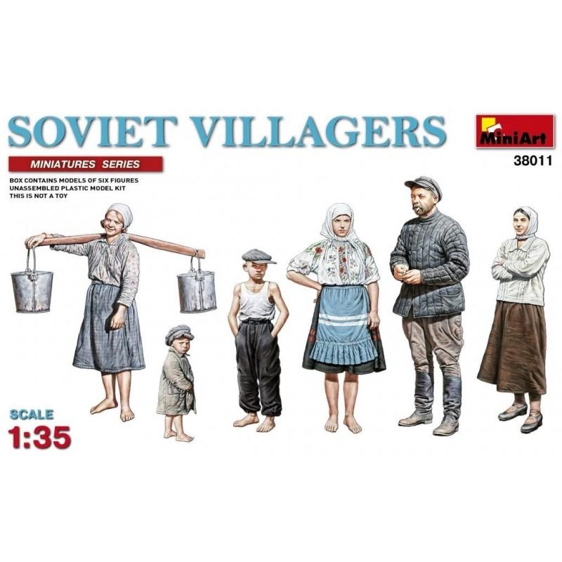 MA-38011 MINIART 38011   1/35  Soviet Villagers