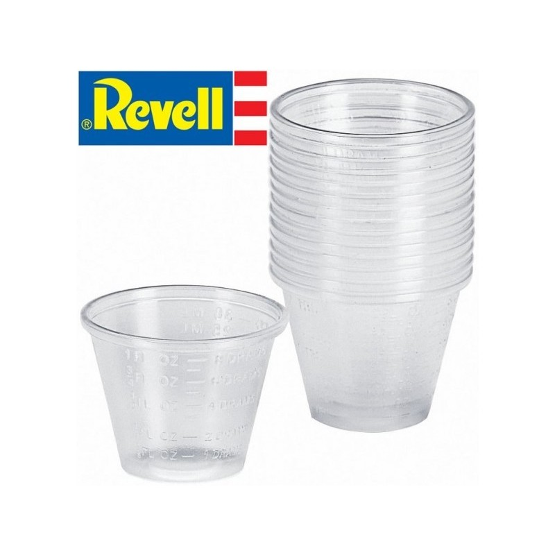 REV-39065 REVELL 39065 Mixing Cups (15 pcs)