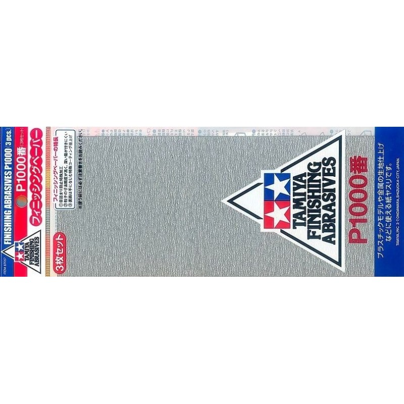 TAM-87057 Tamiya 87057 Finishing Abrasives P1000