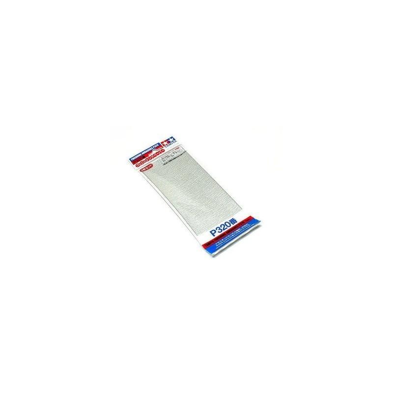 TAM-87094 TAMIYA 87094 Papel de lija para acabado P320