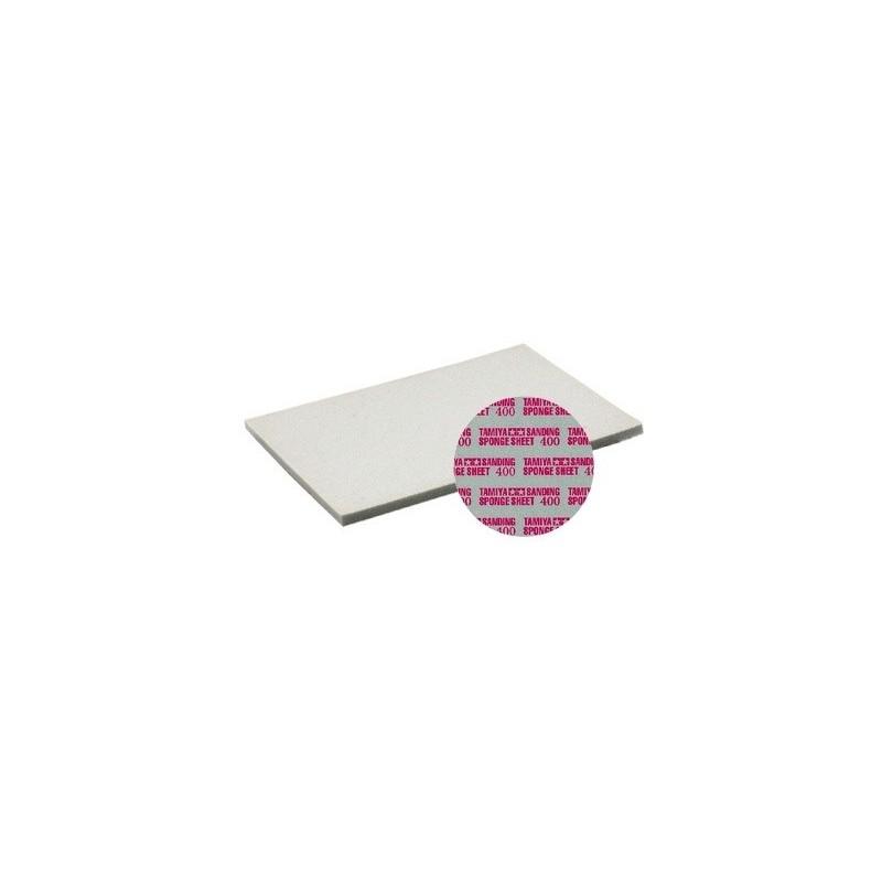 TAM-87147 Tamiya 87147 esponja abrasiva grano 400