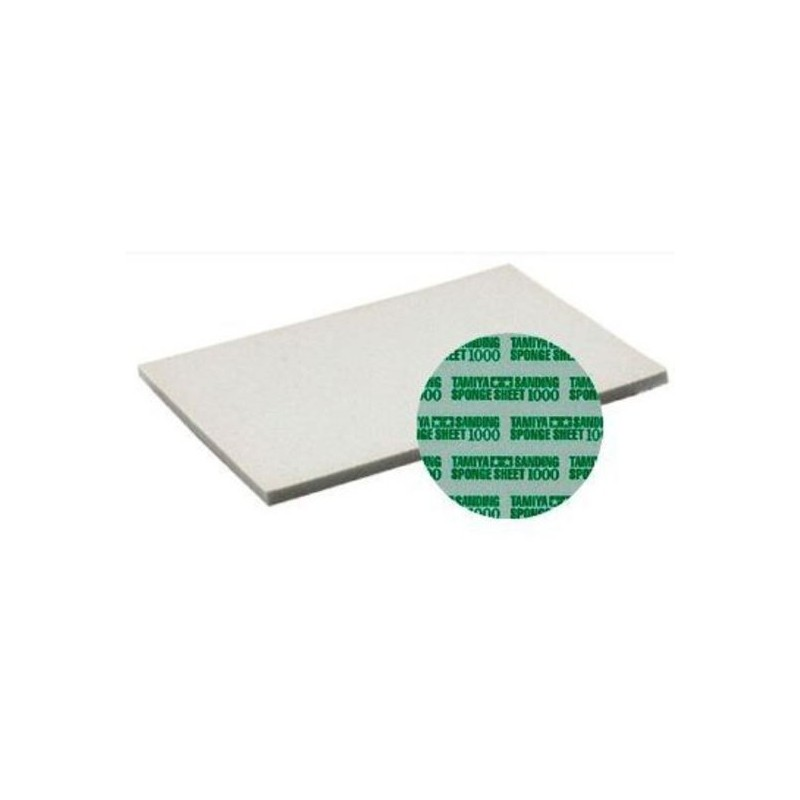 TAM-87149 Tamiya 87149 esponja abrasiva grano 1000