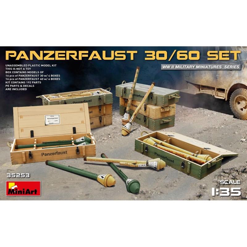 MA-35253 MINIART 35253  1/35 Panzerfaust 30/60 Set
