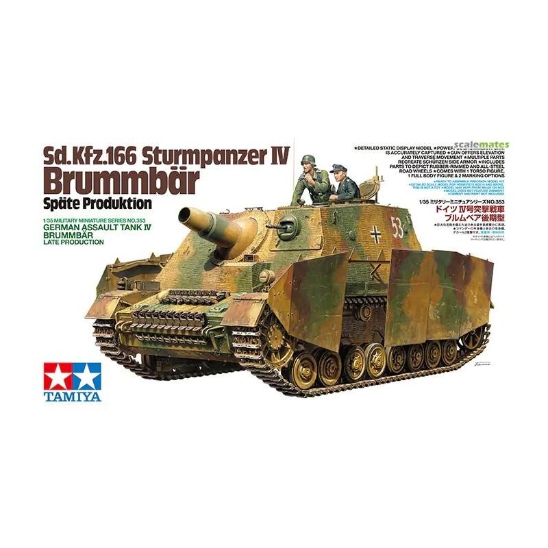TAM-35353 tamiya 35353 1/35 Sd.Kfz.166 Sturmpanzer IV Brummbär