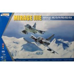 KIN-48050 Kinetic 48050 1/48  Mirage IIIE/O/R. CALCAS ESPAÑOLAS