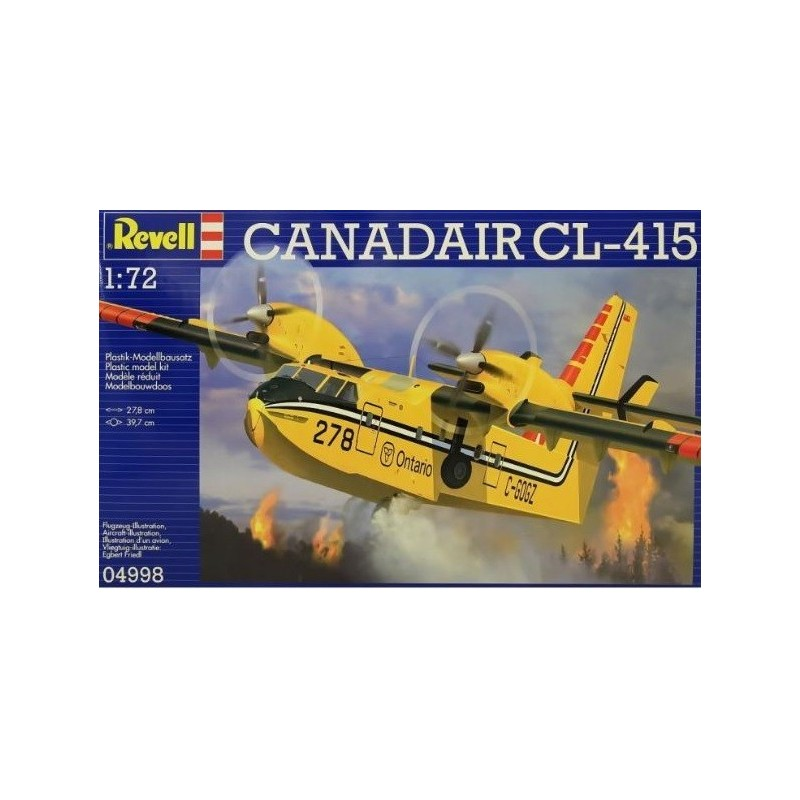 REV-04998 Revell 04998 1/72 Canadair BOMBARDIER CL-415