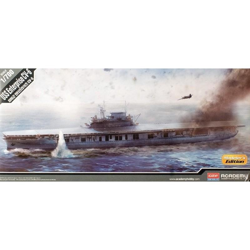 ACA-14224 ACADEMY 14224 1/700 USS ENTERPRISE CV-6