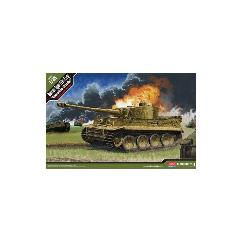 "ACA-13509 ACADEMY 13509 1/35 TIGER I EARLY ""OPERATION CITADEL"""