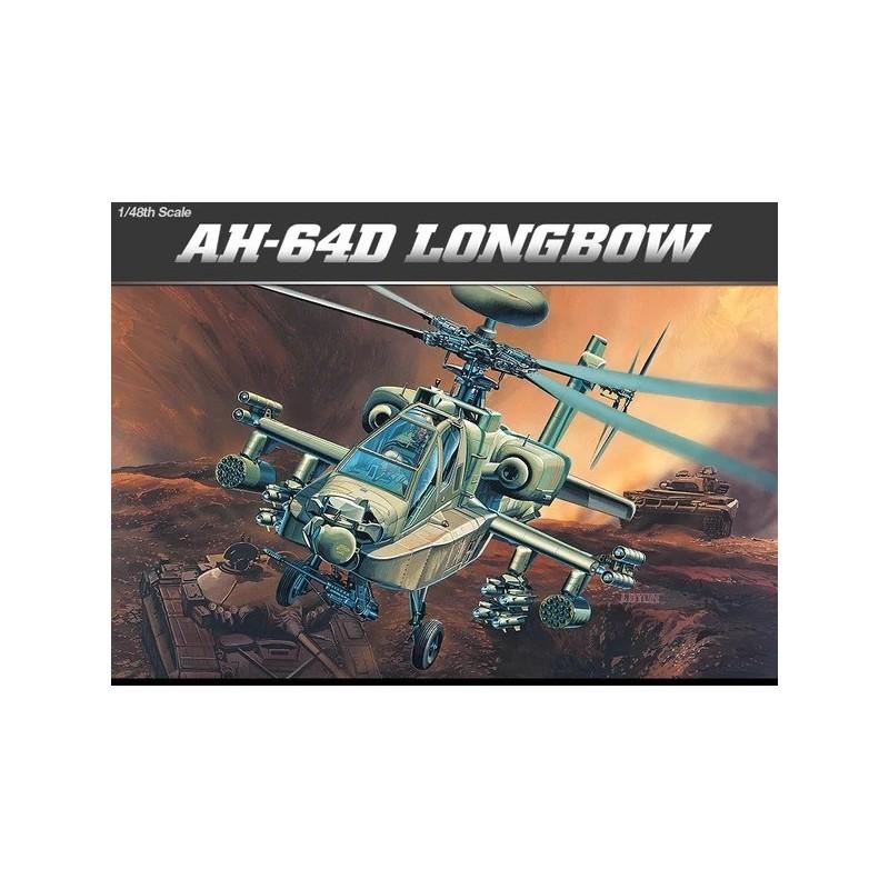 ACA-12268 ACADEMY 12268 1/48 AH-64D LONG BOW