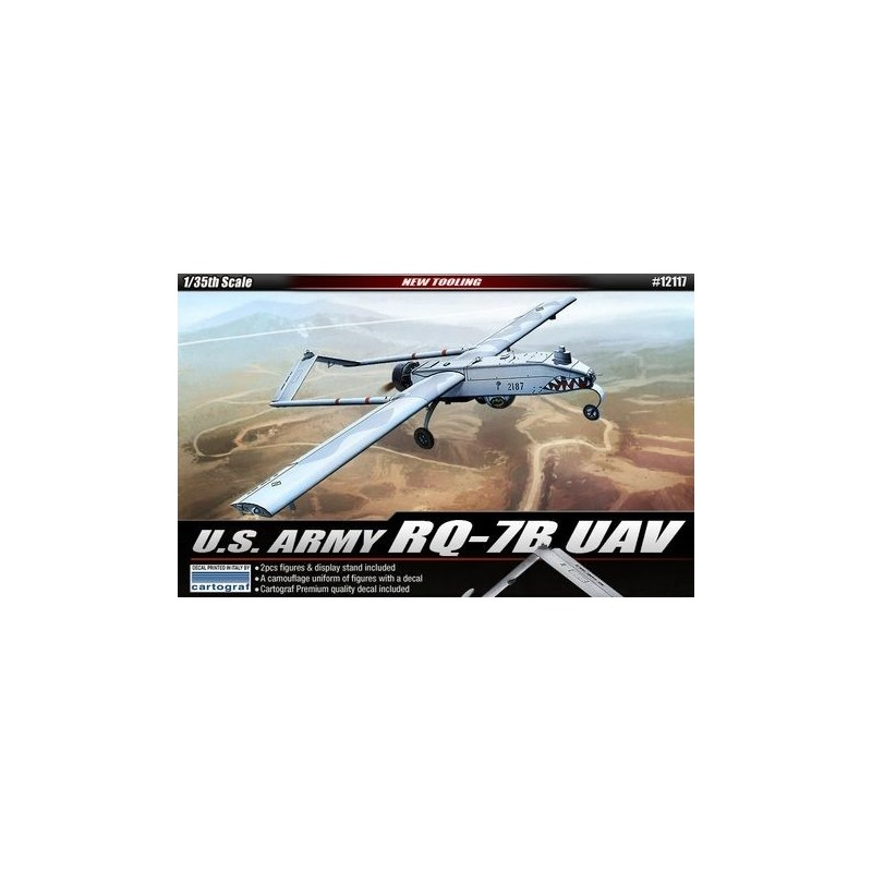 ACA-12117 ACADEMY 12417 1/35 RQ-7B UAV SHADOW DRONE