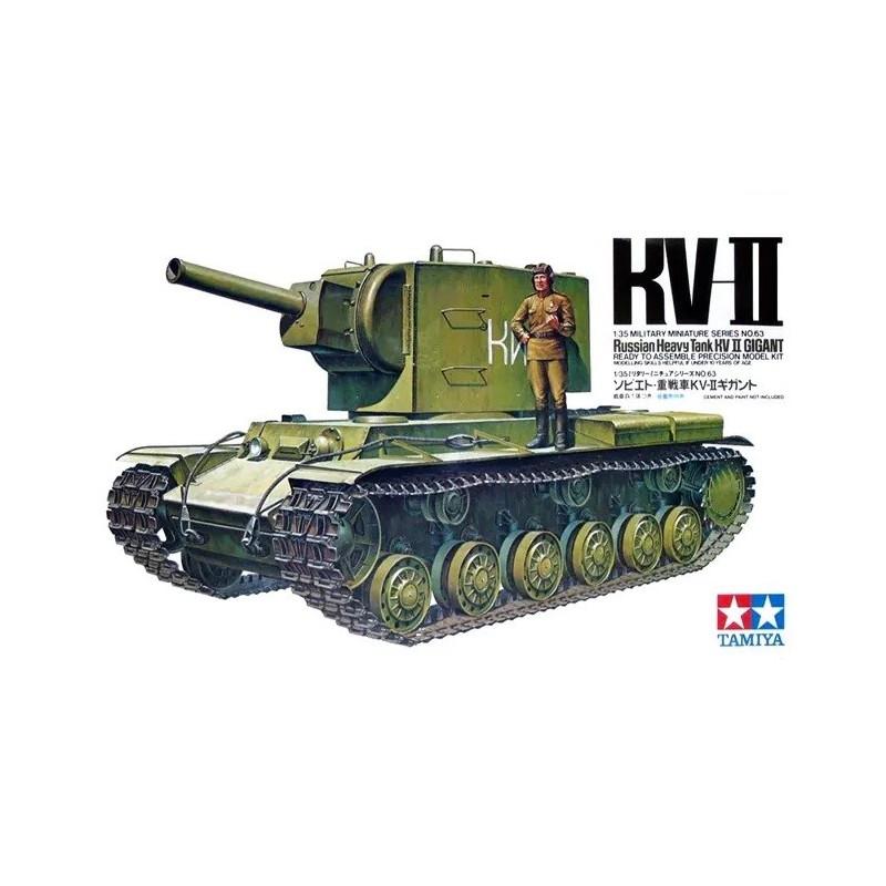 TAM-35063 Tamiya 35063 1/35 KV-II Russian Heavy Tank