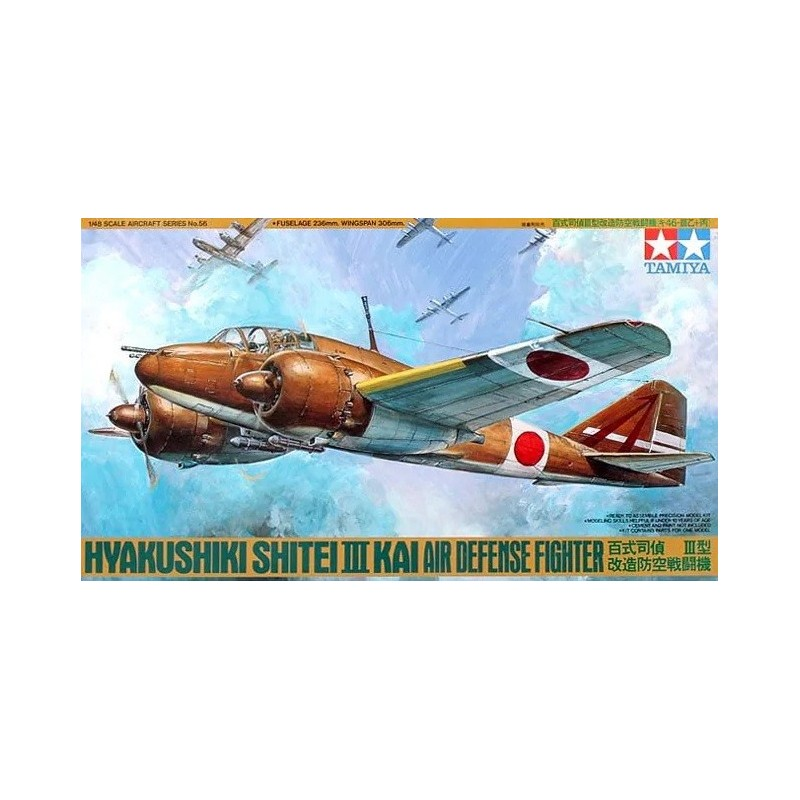 TAM-61056 Tamiya 61056 1/48 Hyakushiki Shitei III Kai Air Defense Fighter