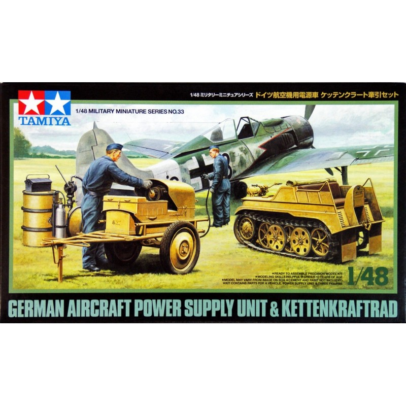 TAM-32533 Tamiya 32533 1/48 German Aircraft Power Supply Unit