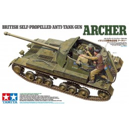 TAM-35356 Tamiya 35356 1/35 British Self Propelled Anti Tank Gun Archer