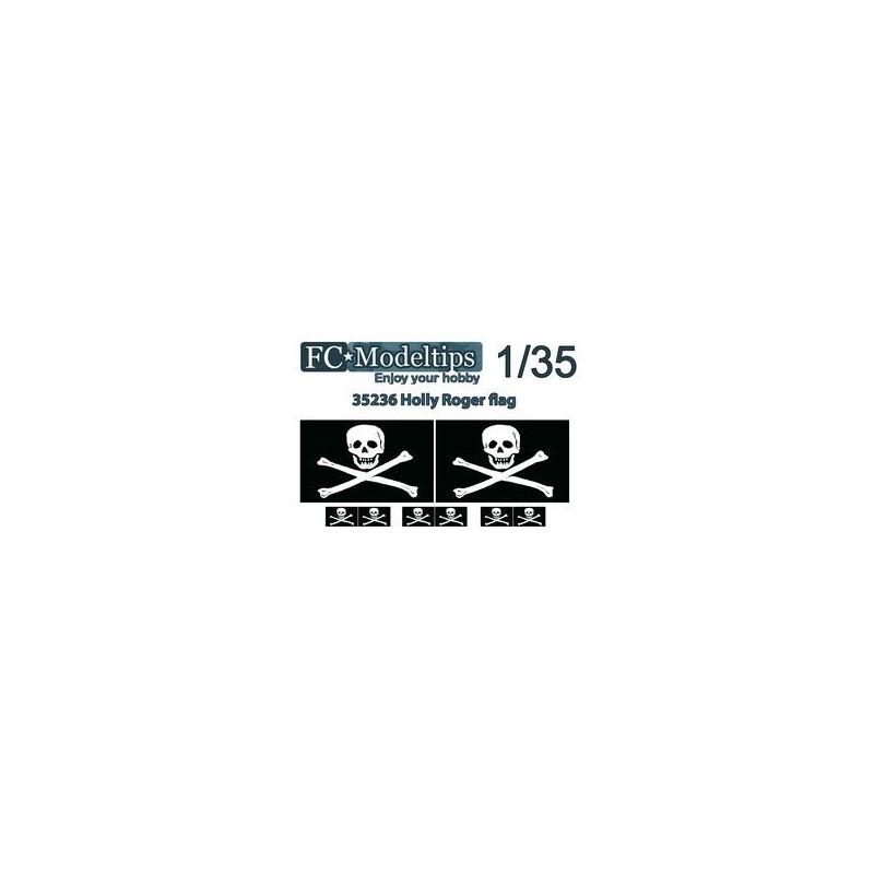 FC-35736 35736 Bandera adaptable Jolly Roger escala 1/35