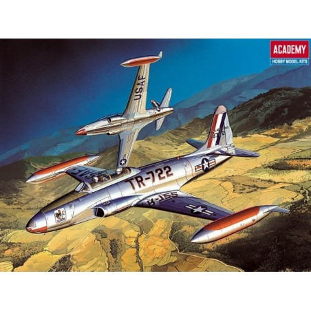 ACADEMY 12284 1/48 T-33A
