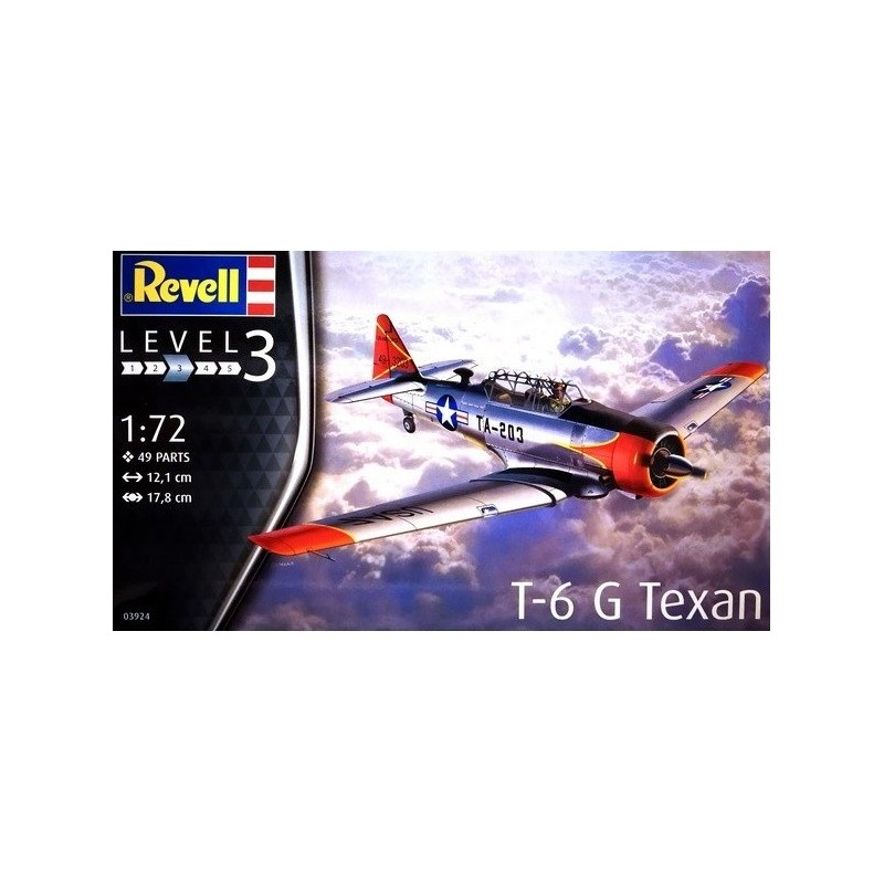REV-03924 Revell 03924 1/72 T-6 G Texan