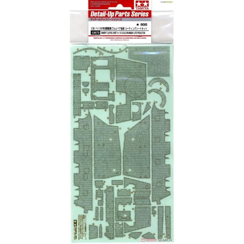 TAM-12673 Tamiya 12673 1/35 Brummbar Zimmerit Coating Sheet