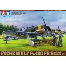 TAM-61104 Tamiya 61104 1/48 Focke-Wulf Fw190 F-8/9 w/Bomb Loading Set