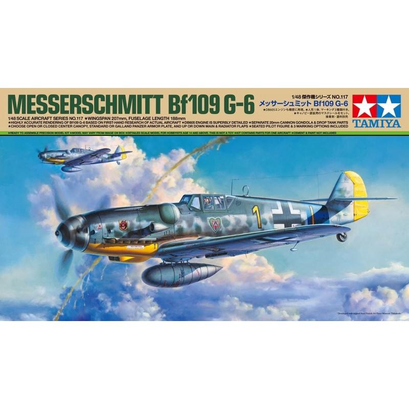 TAM-61117 Tamiya 61117 1/48 Messerschmitt Bf 109 G-6