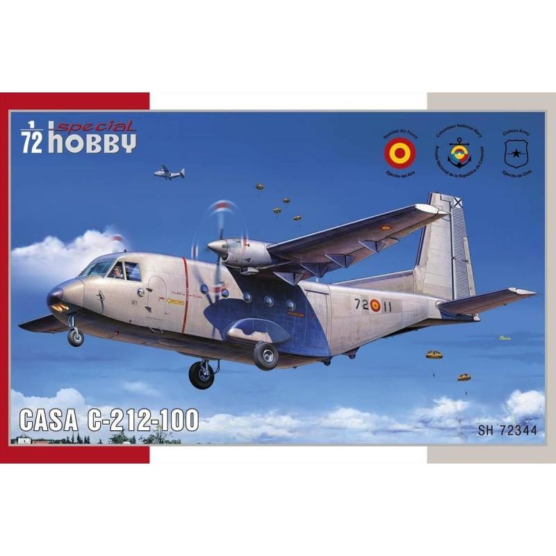 SH-100SH72344 Special Hobby 100sh72344 1/72 casa c.212-100. Calcas espanolas