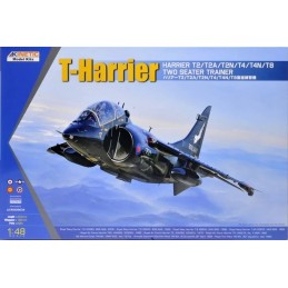 KIN-48040 Kinetic 48040 1/48 T-Series Harrier Two-Seat