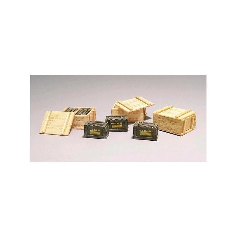 PL-420 Plusmodel 420 1/35 U.S.Wooden ammunition boxes Vietnam