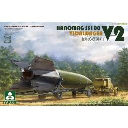 TKM-2110 Takom 2110 1/35 Hanomag SS100 V-2 Rocket Transporter