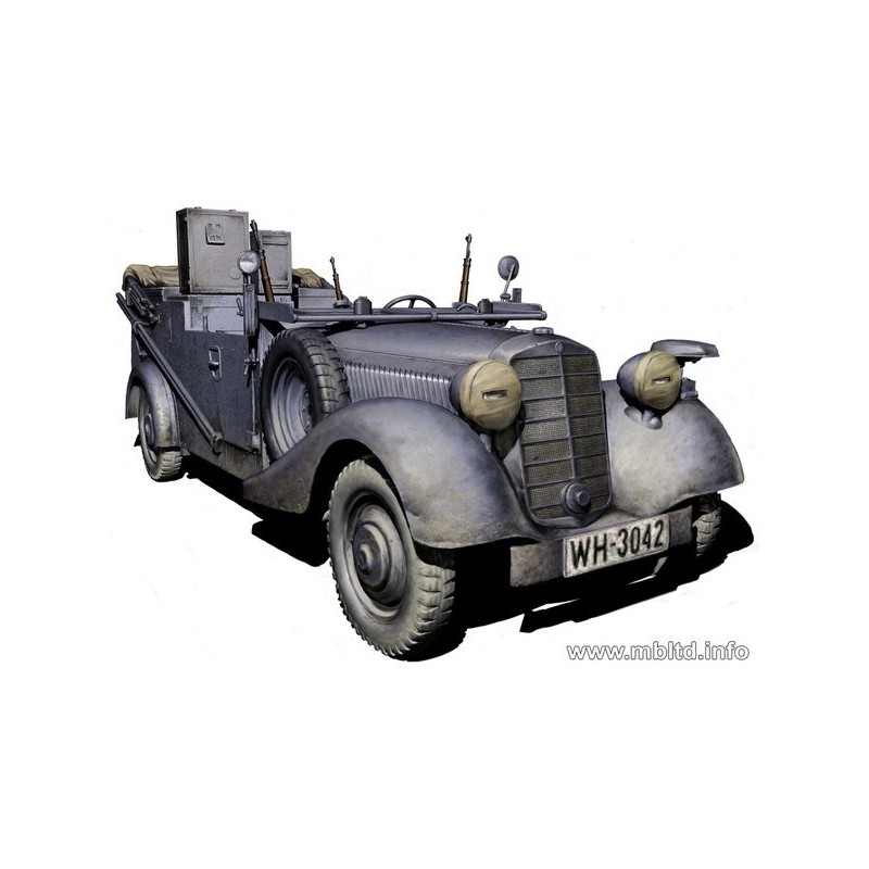 MB-3531 Master Box 3531 1/35 Sd.Kfz. 2 Type 170VK German military radio car