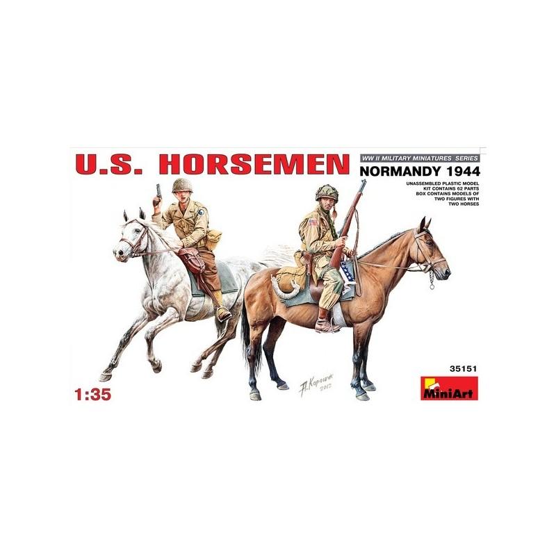 MA-35151 MiniArt 35151 1/35 U.S. HORSEMEN