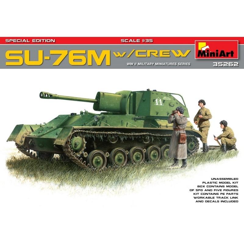 MA-35262 MiniArt 35262 1/35 Su-76M w/crew Special Edition