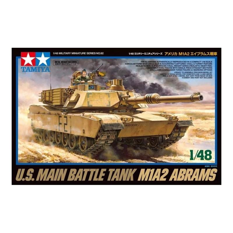 TAM-32592 Tamiya 32592 U.S. MAIN BATTLE TANK M1A2 ABRAMS