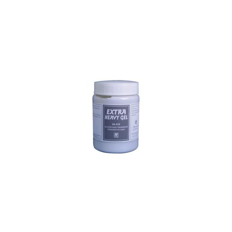 VAL-26535 Acrylicos Vallejo 26536  Gel Extra Denso. Transparente 200 ml.