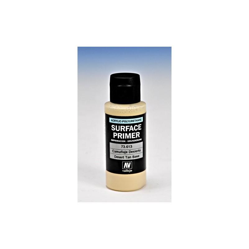 VAL-73613 Acrylicos Vallejo 73613 imprimación Acrilica-Poliuretano. Frasco 60 ml. Camuflaje Desierto