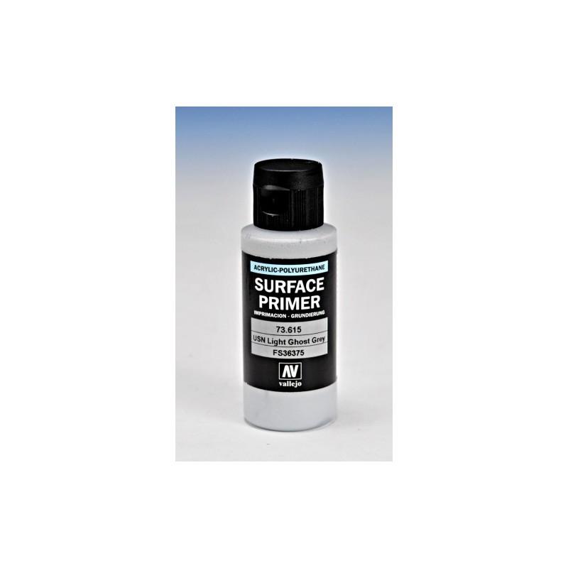 VAL-73615 Acrylicos Vallejo 73615  Imprimación Acrilica-Poliuretano. Frasco 60 ml. Gris Claro USN