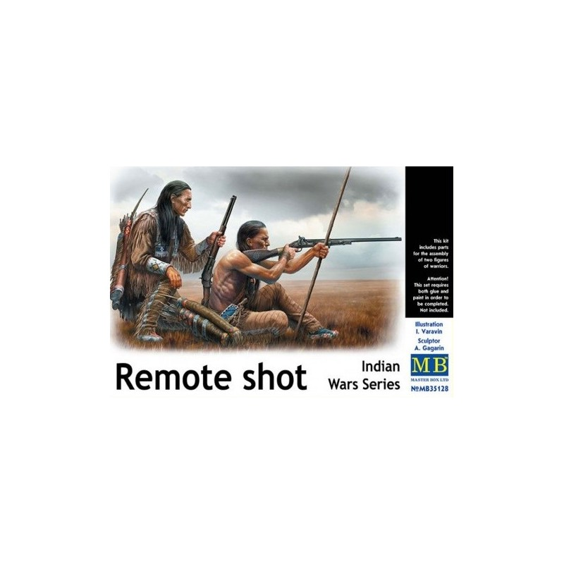MB-35128 Master Box 35128 1/35 Indian Wars Series Remote shot