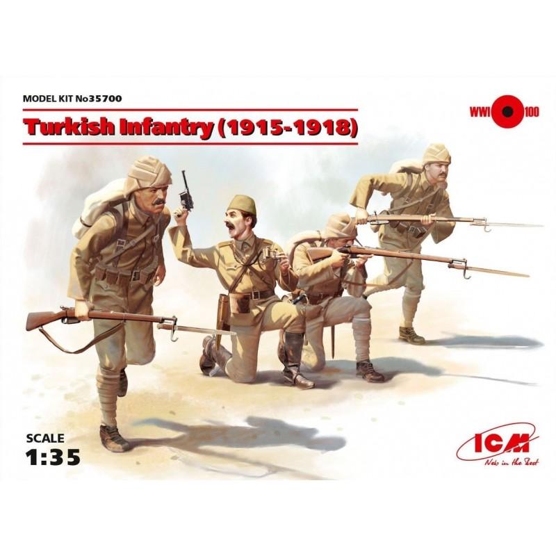 ICM-35700 ICM 35700 1/35 Turkish Infantry (1915-1918)