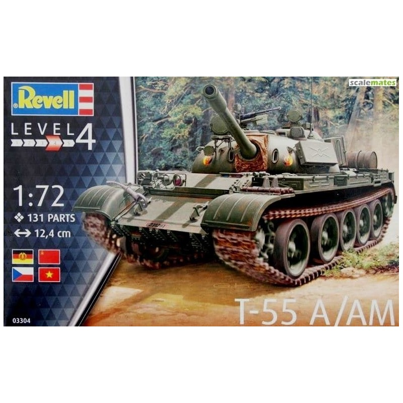 REV-03306 Revell 03306 1/72 T-55AM / T-55AM2B
