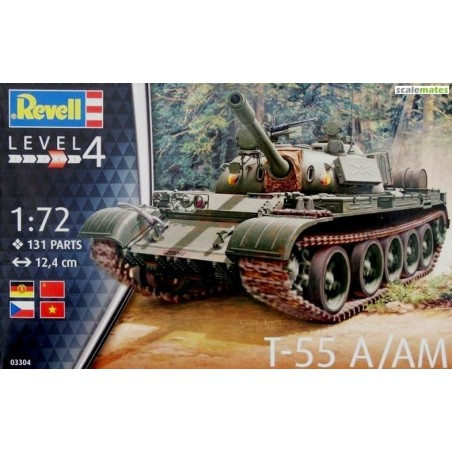 REVELL 03306 1/72 T-55AM