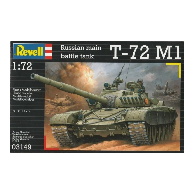 REV-03149 Revell 03149 1/72  T-72 M1