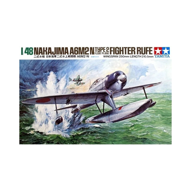 TAM-61017 Tamiya 61017 1/48 Nakajima A6m2n Nishikisuisen (rufe)