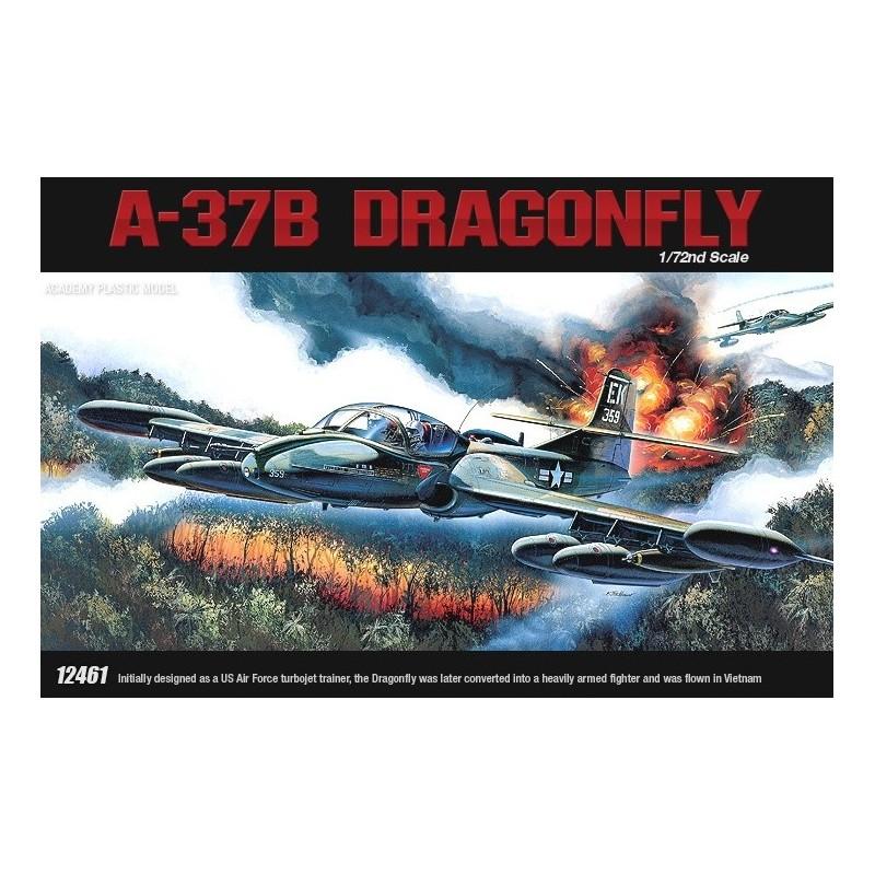 ACA-12461  Academy 12461 1/72 A-37B DRAGONFLY