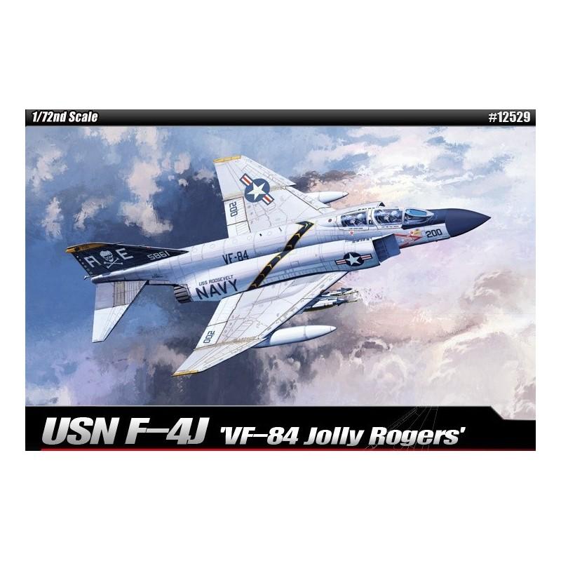 ACA-12529 Academy 12529 1/72 USN F-4J VF-84 Jolly Rogers