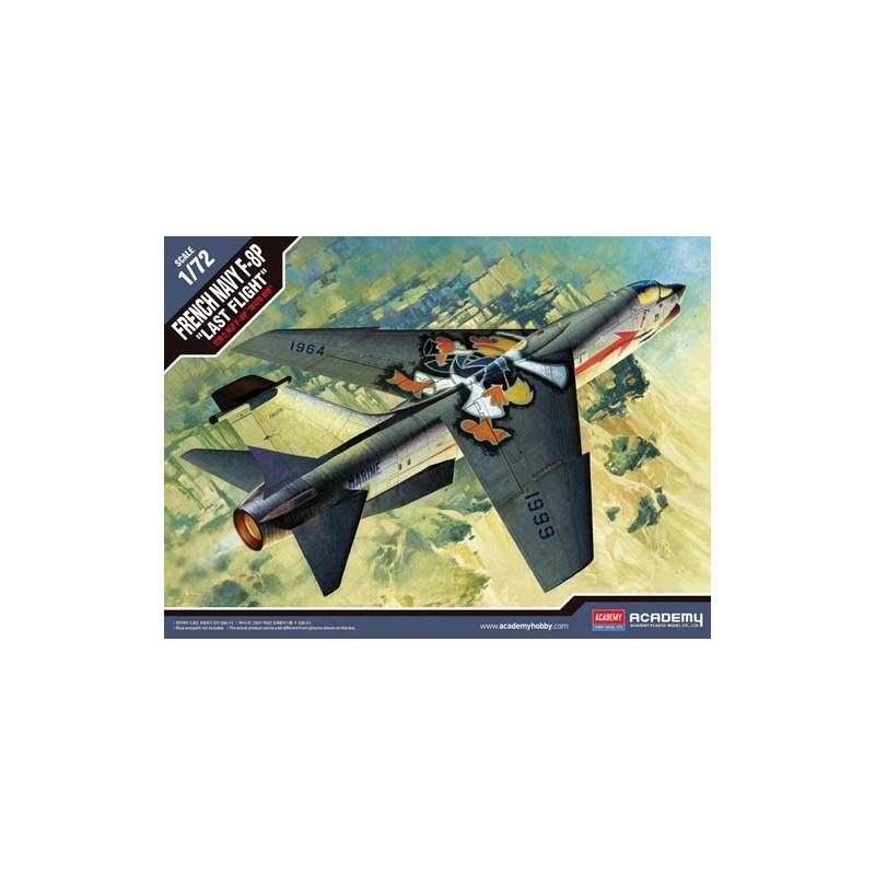ACA-12559 Academy 12559 1/72 F-8P Crusader French Navy