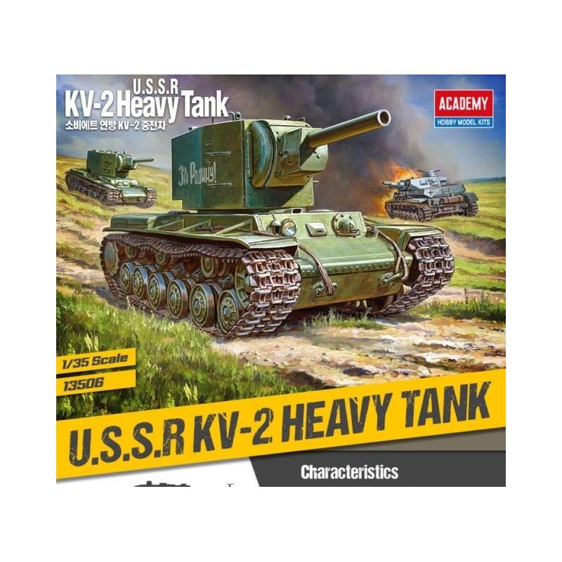 ACA-13506 ACADEMY 13506 1/35 USSR KV-2 HEAVY TANk